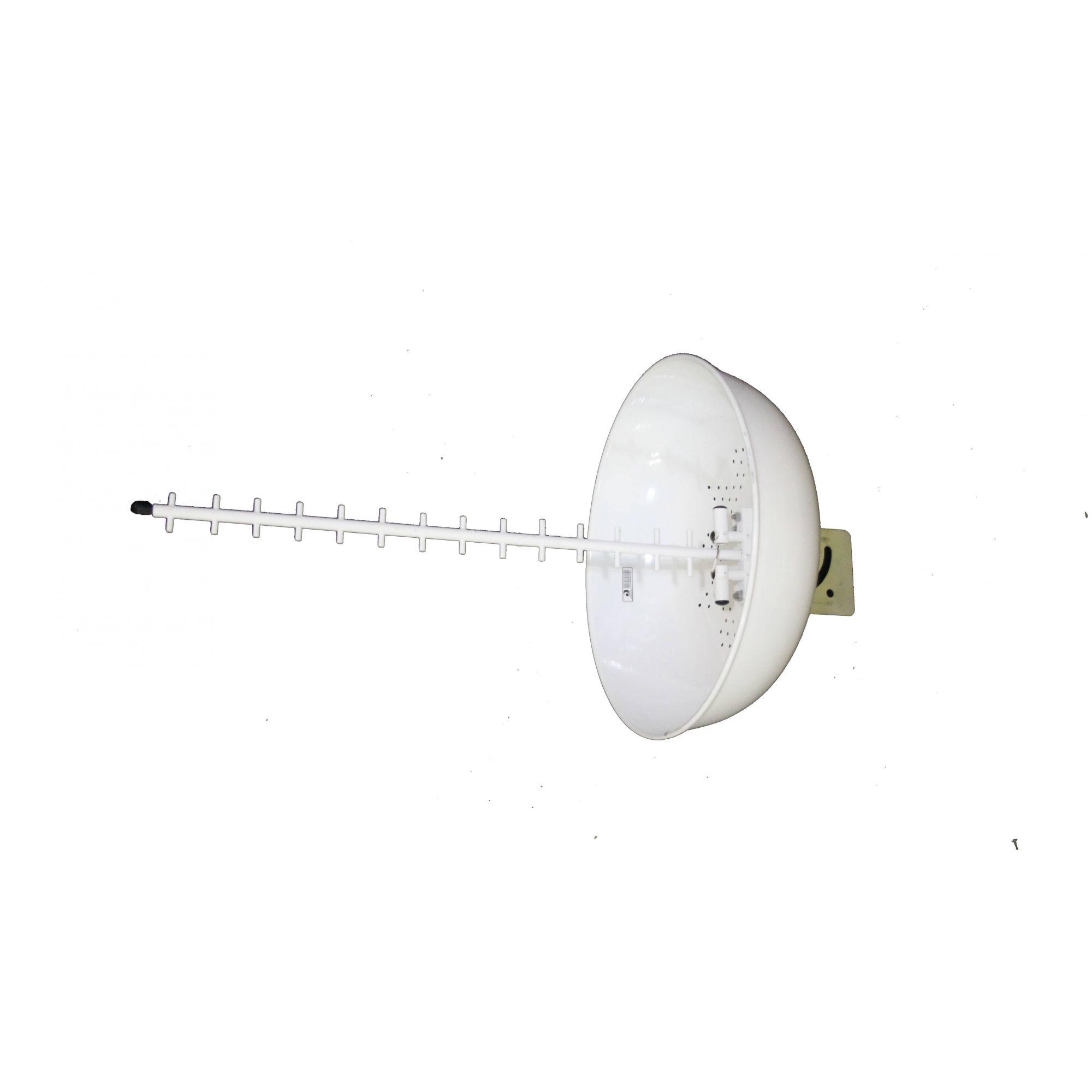 KIT ANTENA CÚBICA 4G - 24 Dbi  1900/2600 MHz