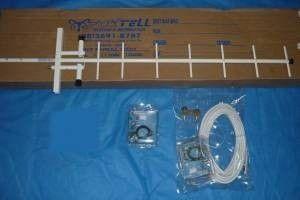 Kit Antena Para Celular Rural 850mhz (15/17/20/24dbi)