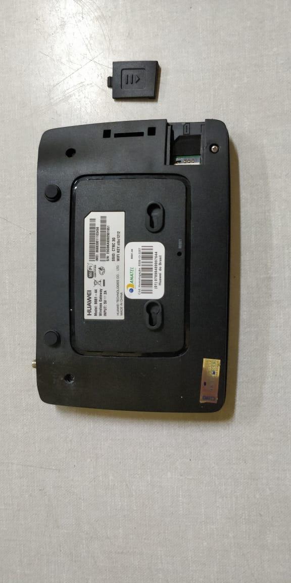 ROTEADOR MODEM DESBLOQUEADO 3G WIFI COM ENTRADA ANTENA RURAL.