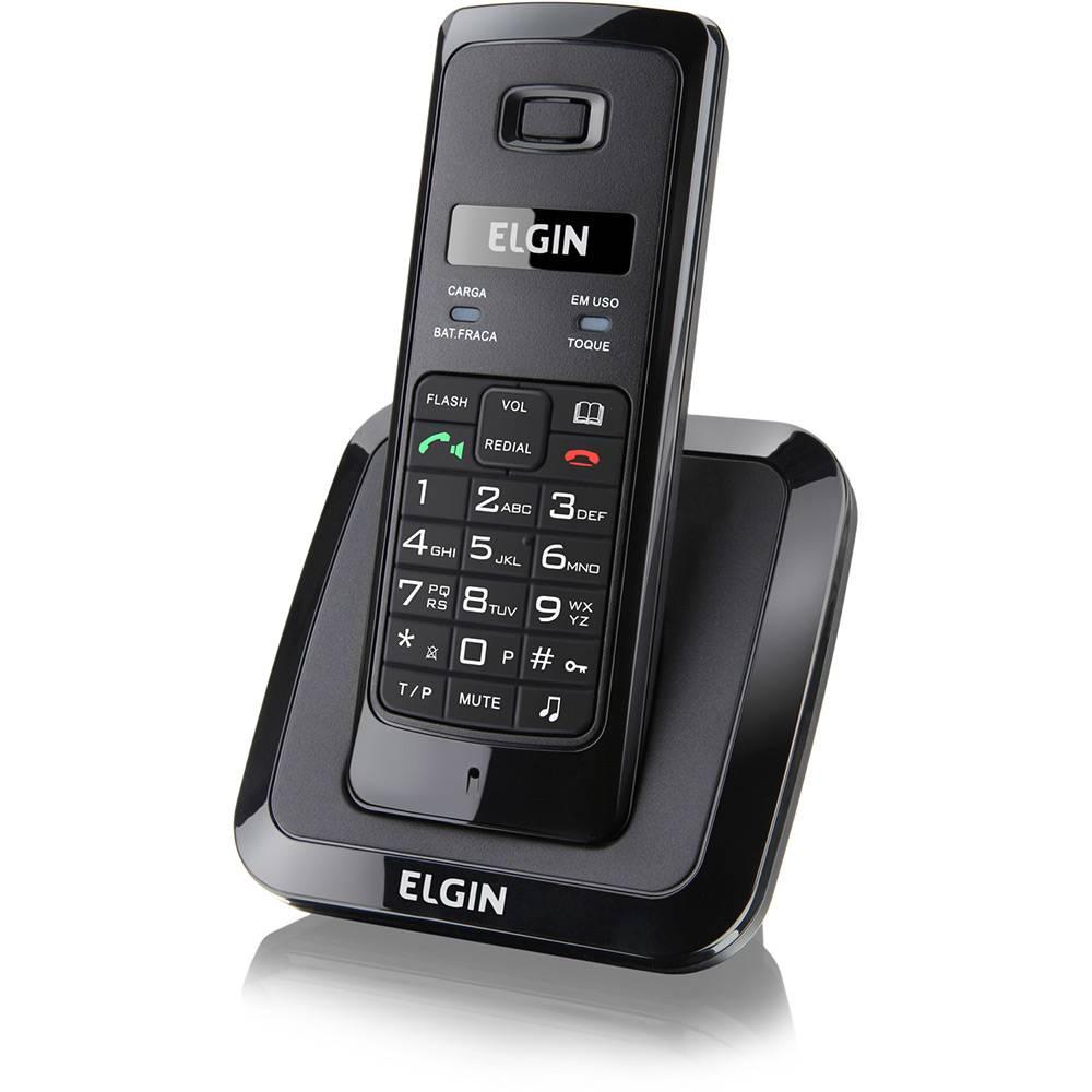 TELEFONE SEM FIO ELGIN TSF 3500 DECT 6.0 1.9GHZ