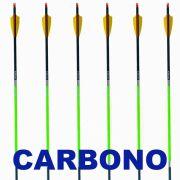 Flecha Carbono Vixion 30'' Nature 30 7.8mm (kit 6 pçs) Ponta Rosca