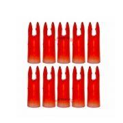 Nock Vixion 7.0mm vermelho AAL30-NK acrilico (kit 10 pçs)