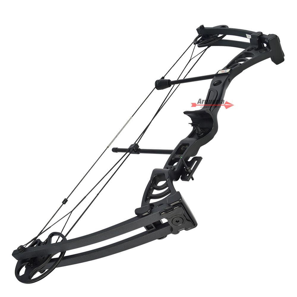 Arco e flecha Vixion Cruzer MK-CB50B Composto Profissional Black