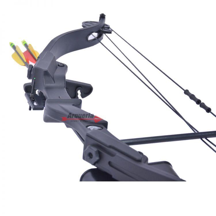 Arco e flecha Scorpion Vixion Composto Preto