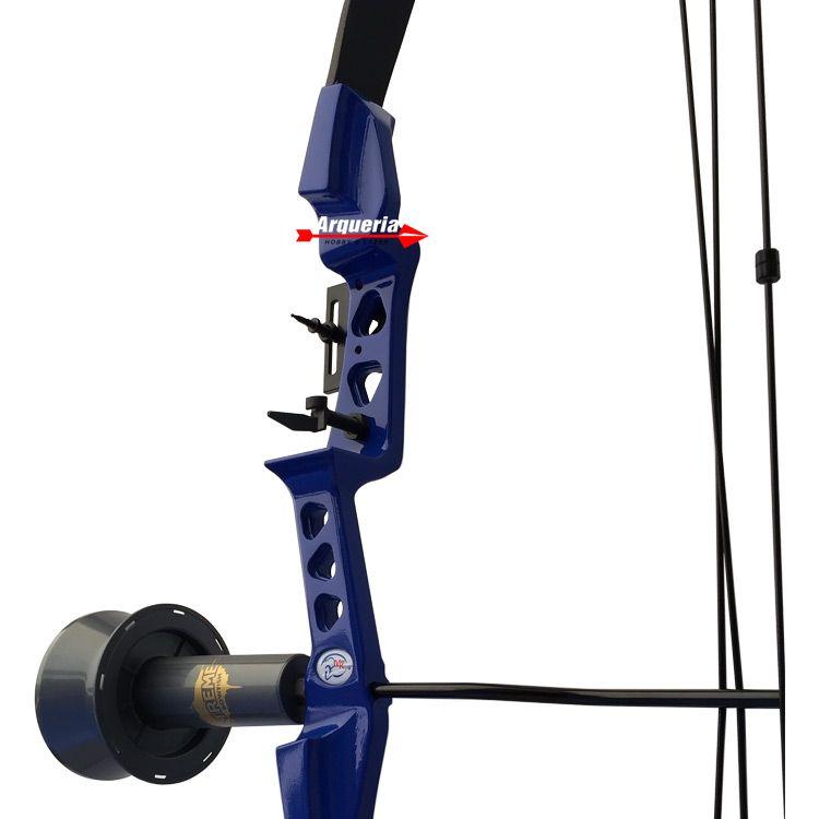 Arco e flecha Sniper MK-CB30BL Vixion Composto + Carretel de Pesca Extreme