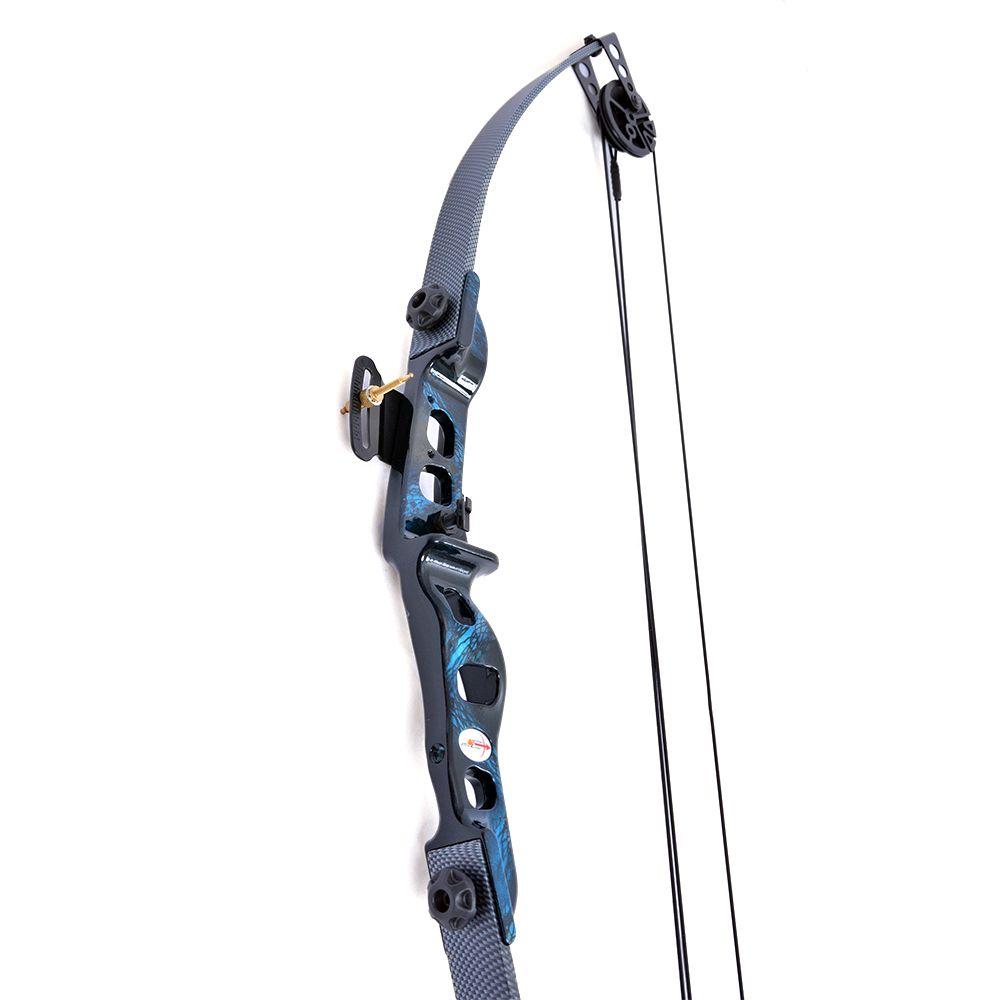 Arco e flecha Catfish Vixion Composto Blue Sapphire 25-35 LBS Carbon