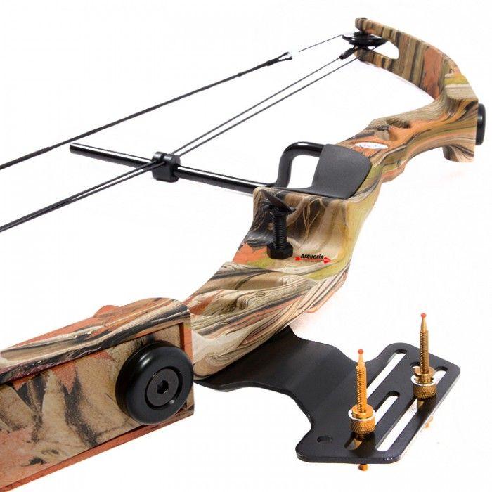 4da23fcf6 Arco e flecha Composto Vixion Profissional Bobcat 55 lbs