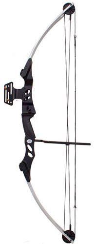 Arco e flecha Bobcat MK-CB55SB Vixion Composto Profissional Silver/Black