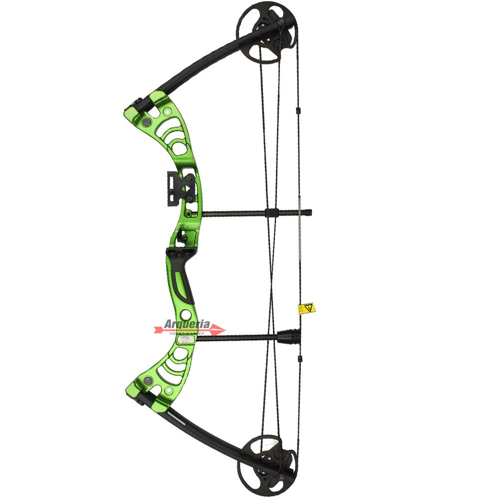 Arco e flecha Vixion Cruzer MK-CB50G Composto Profissional Green