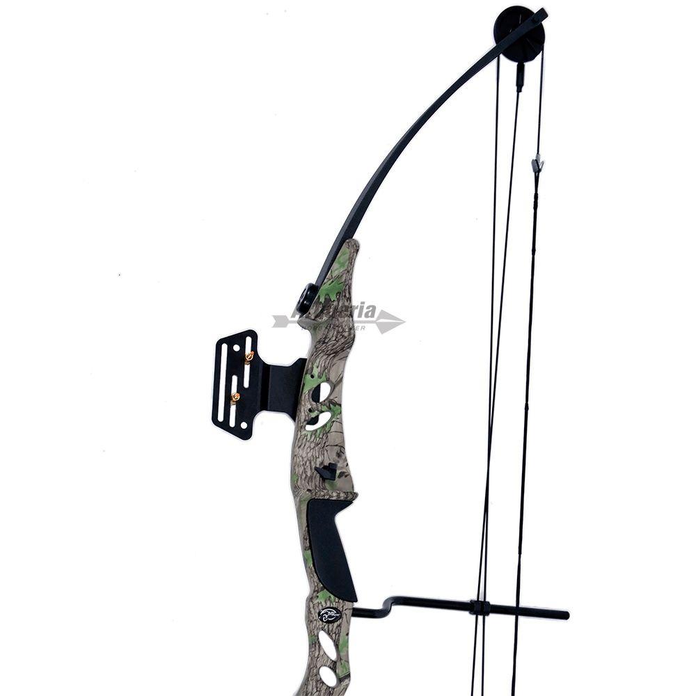 Arco e flecha Bobcat MK-CB55GC Vixion Composto Profissional Camuflado