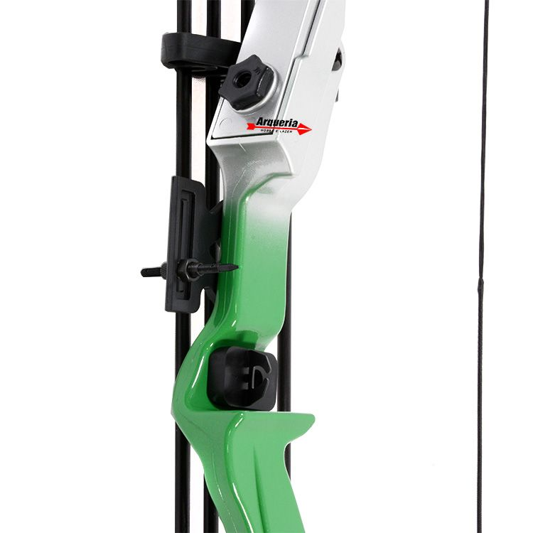 Arco e flecha Alligator MK-RB007G Vixion Recurvo Verde/Cinza