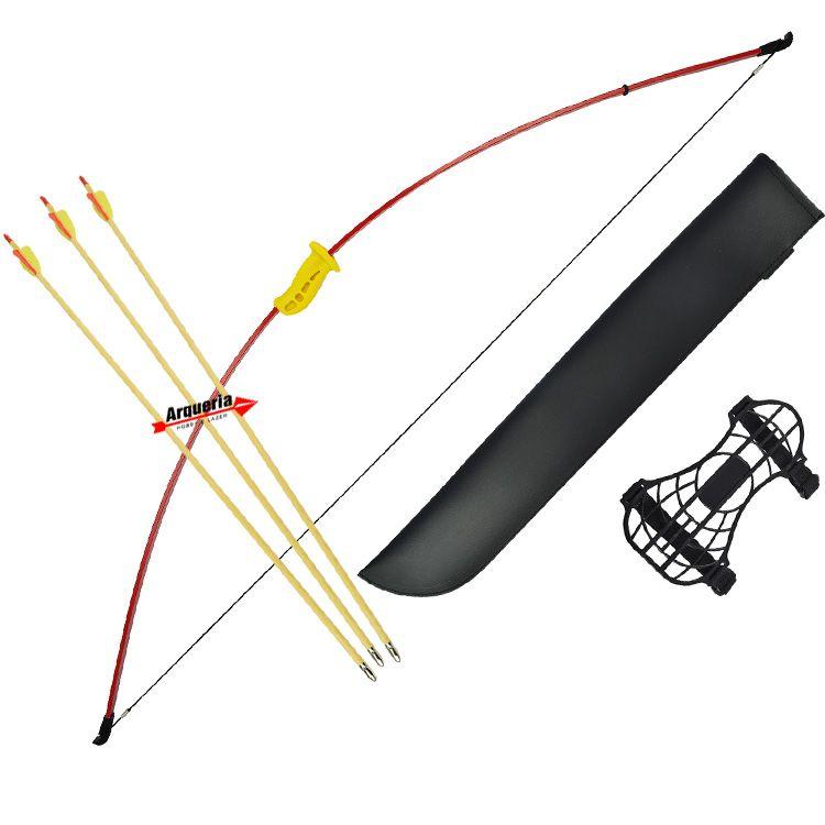 Arco e flecha Strike MK-RB011 Vixion Recurvo Ambidestro (Canhoto e Destro)