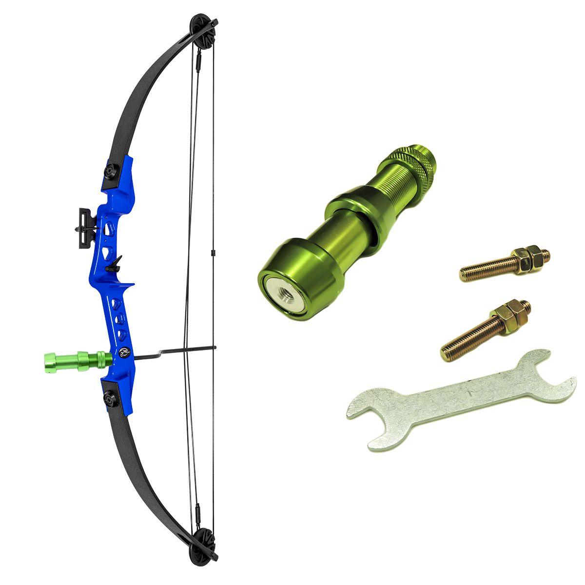 Arco e flecha Sniper MK-CB30BL Vixion +  SUPORTE RST-G PARA CARRETILHA PESCA