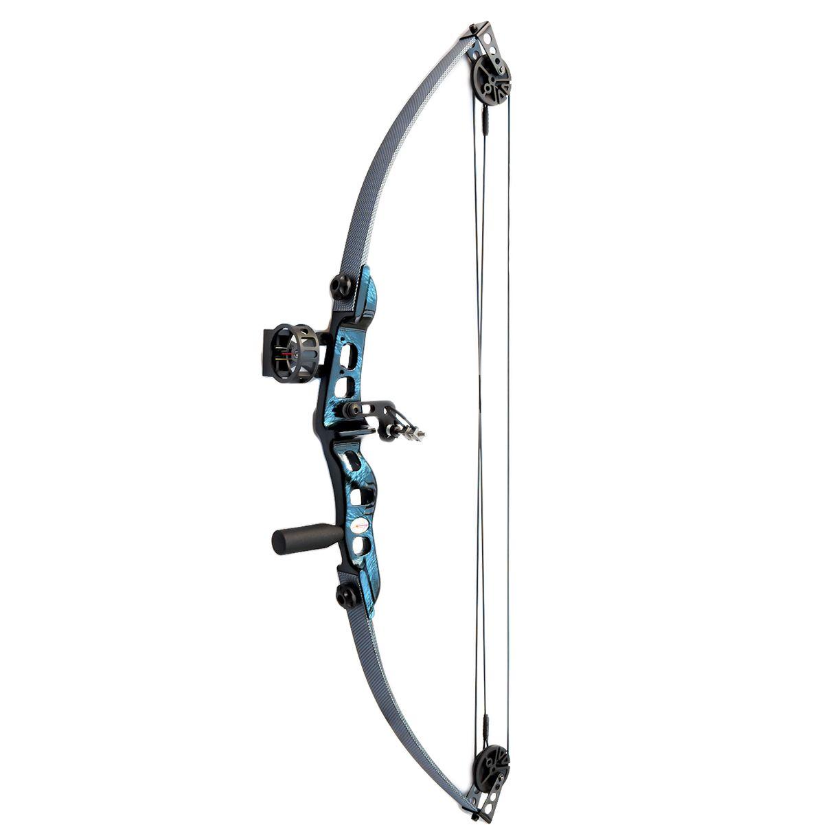 Arco e flecha Catfish Vixion kit plus Composto + Mira MK-Sight + Rest B10002K + Estabilizador EST1