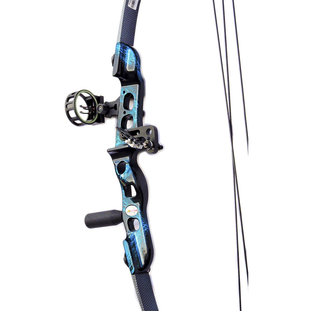 Arco e flecha Catfish Vixion kit plus Composto + Mira B30010 + Rest B10002K + Estabilizador EST1