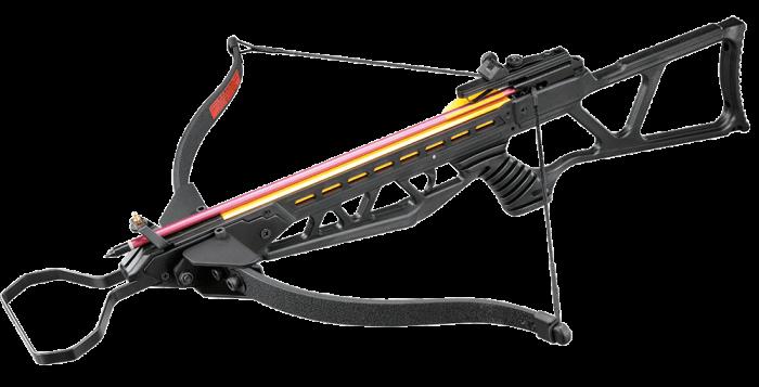 Balestra 130 lbs MK-180 Vixion Coyote Lâminas Rebatíveis