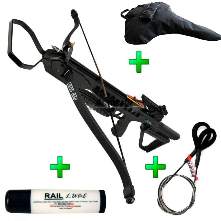 Balestra 175 lbs Vixion Speedster XB21  + Cabo Guia + Cera lubrificante + Capa SPL Brinde