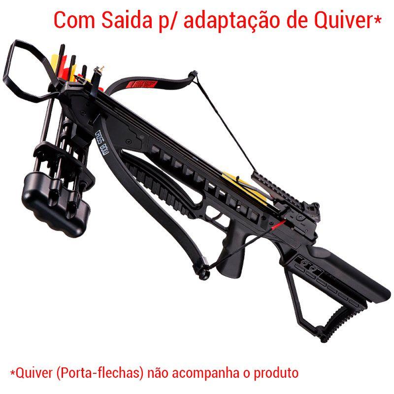 Balestra 175 lbs MK-XB21BK Vixion Speedster  + Cabo Guia + Cera lubrificante + Capa SPL Brinde