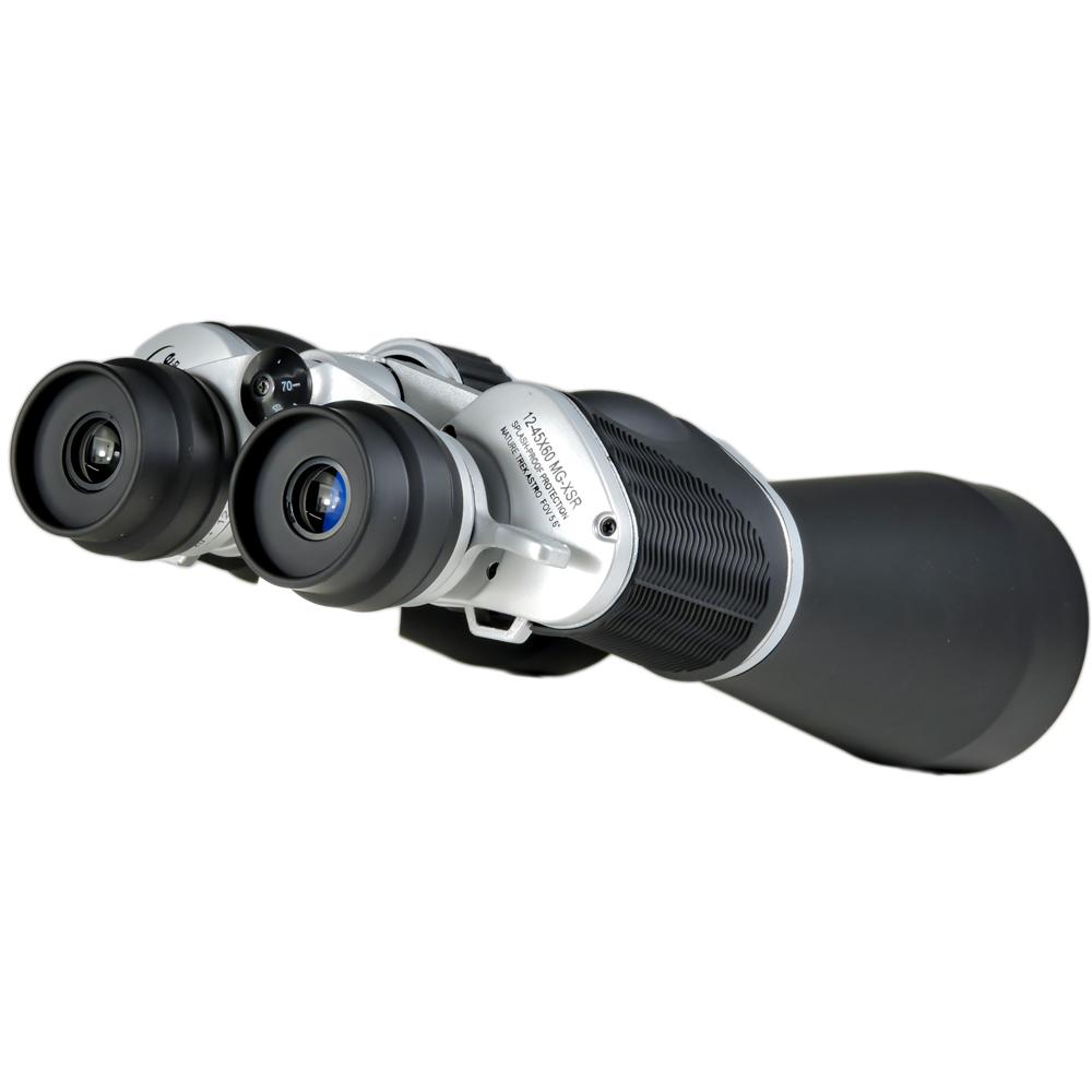 Binóculo Skylife 12-45x60 MG-XSR  Splash-Proof e Prismas HD
