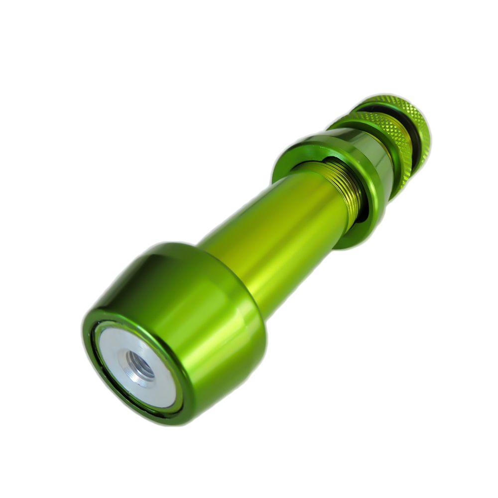 Estabilizador Vixion e suporte para carretilha pesca Rst-g Green
