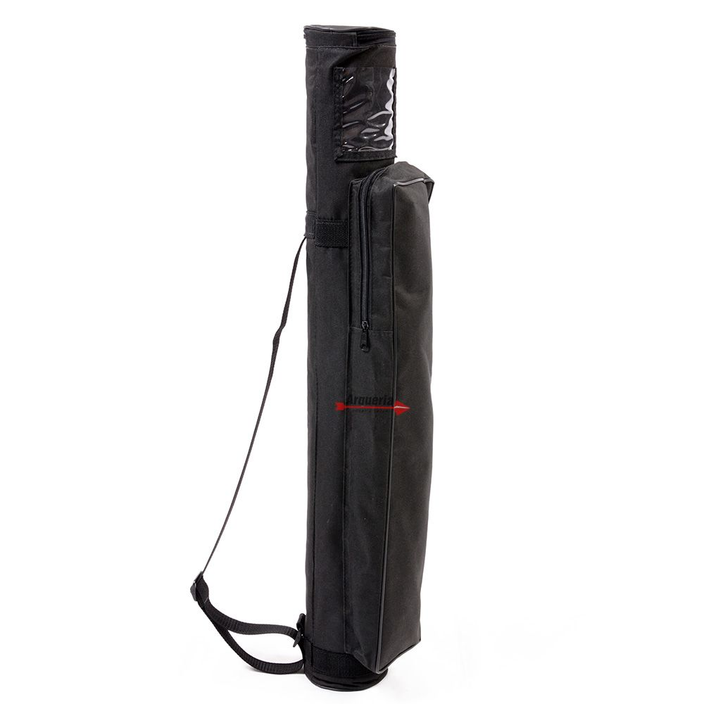 Estojo Vixion TGP preto porta acessórios com bolsa e alça
