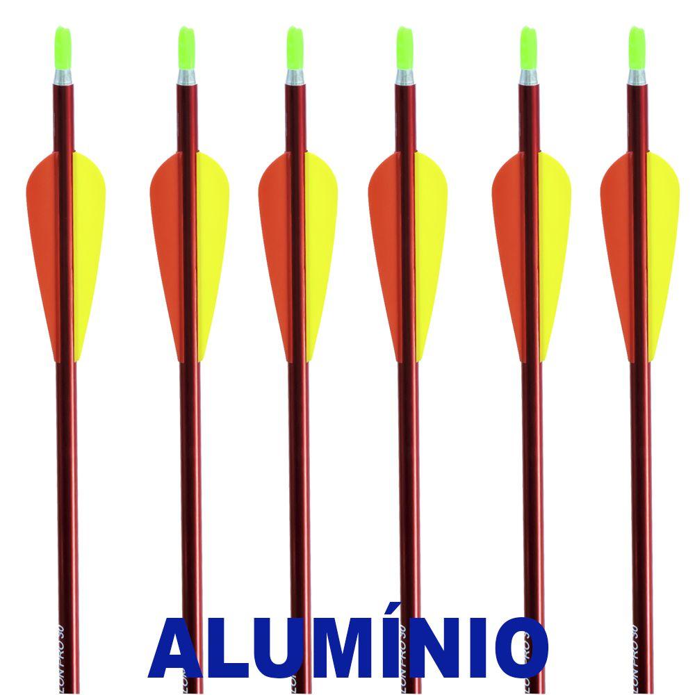 Flecha Alumínio Vixion 30'' Avalon Pro 30 7.5mm (kit 6 pçs) Ponta Rosca