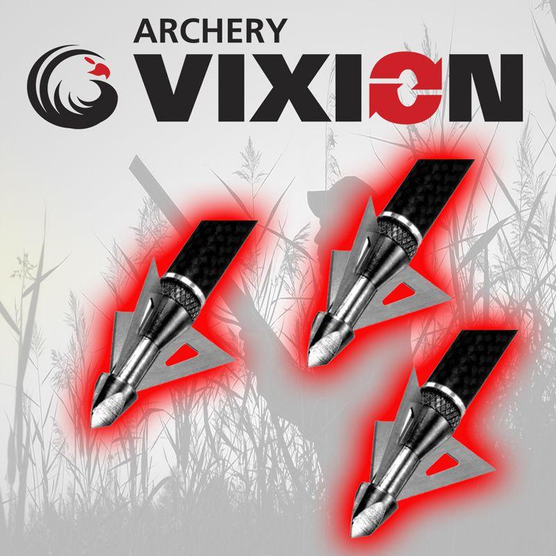 Ponta caça Vixion V-124 (kit 3 pçs) Rosca