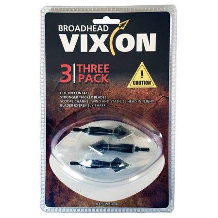 Ponta caça Vixion V-260 (kit 3 pçs) Rosca