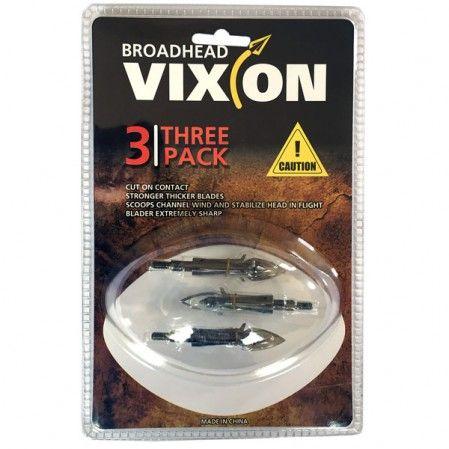 Ponta caça Vixion V-263 (kit 3 pçs) Rosca