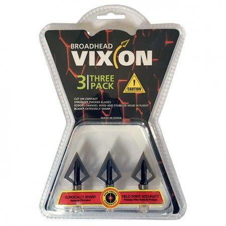Ponta caça Vixion V-436 (kit 3 pçs) Rosca