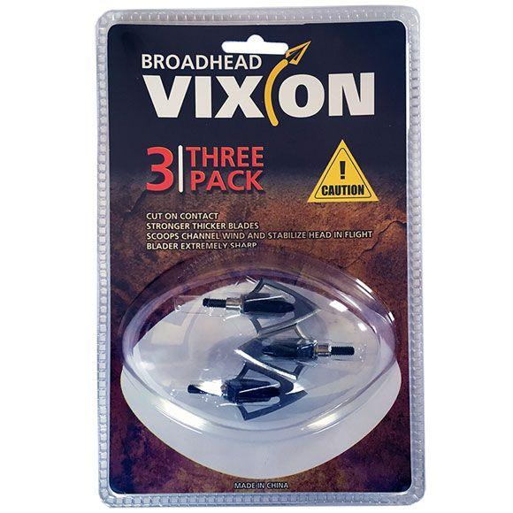 Ponta caça Vixion V-522 (kit 3 pçs) Rosca