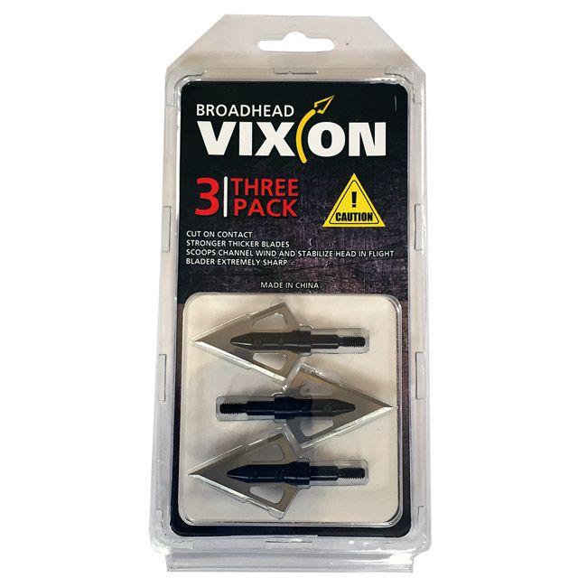 Ponta caça Vixion V-590 (kit 3 pçs) Rosca