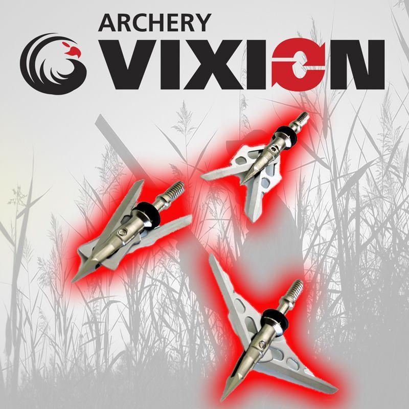 Ponta caça Vixion VX-B12 (kit 3 pçs) Rosca
