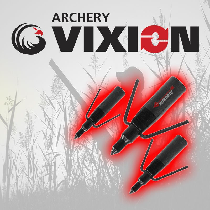 Ponta pesca Vixion D-09801 em aço (kit 3 pçs) Cola