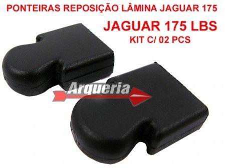 Ponteira Original de Reposição para Lâmina da Balestra Jaguar 175 lbs - Kit com 02 unidades
