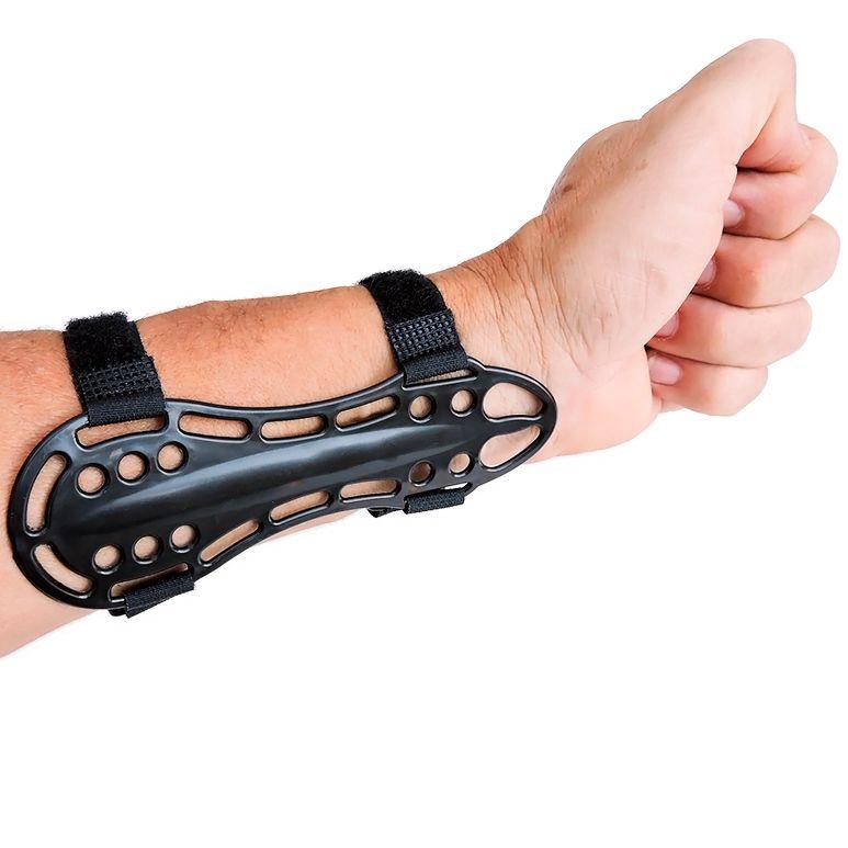 Protetor de Punho Vixion ABS preto Compacto (14 x 5cm)