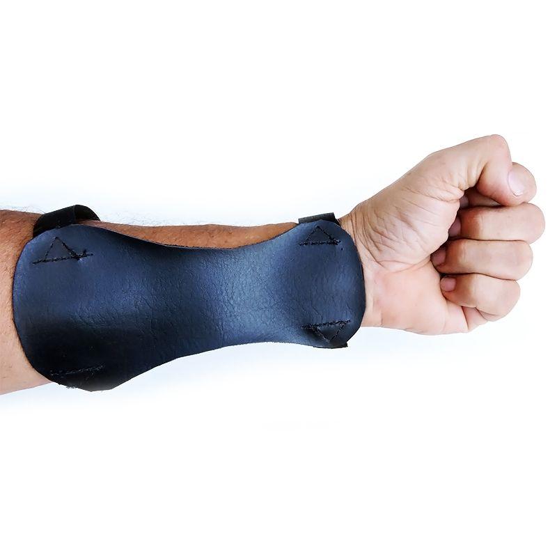 Protetor de Punho Vixion XX preto adulto (16.5 x 8.5cm)