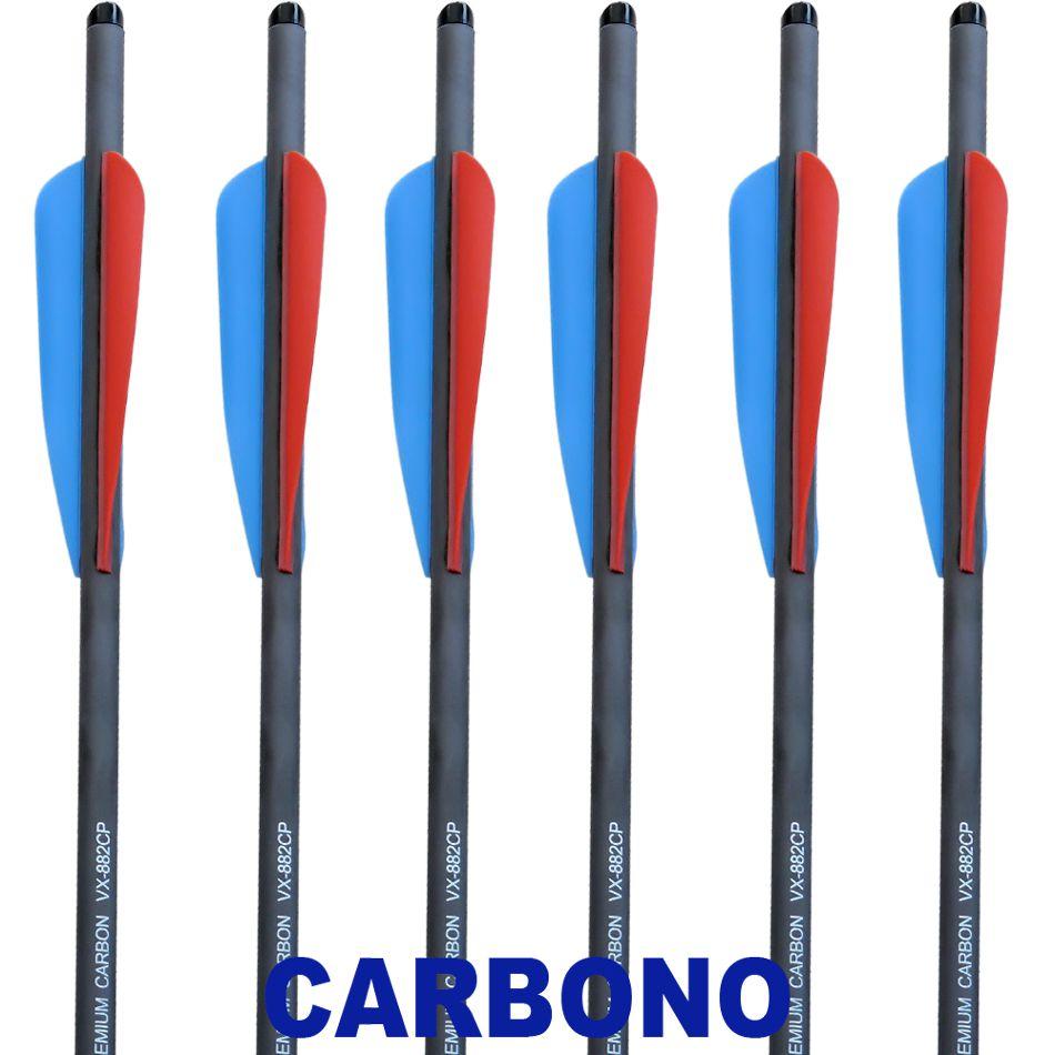 Setas Carbono Vixion 20