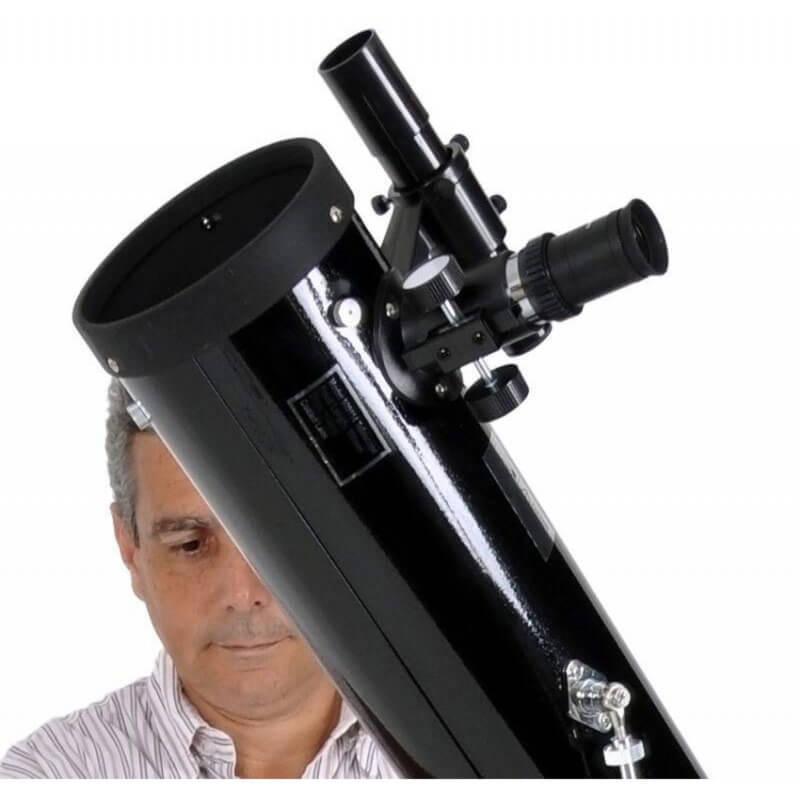 Telescópio 114mm (4 pol.) SkyLife Cygnus AZ2 + Super Plossl + CD-ROM