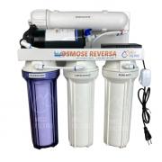 Filtro Deionizador com Osmose Reversa - 4 etapas/75GPD - Com bomba