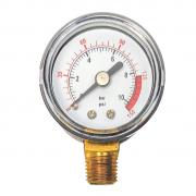 Manômetro De 0 - 150 PSI Conexão Inferior