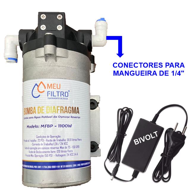 Bomba Pressurizadora P/ Osmose Reversa 100 Gpd