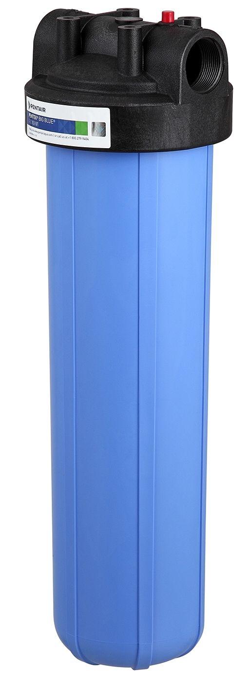 """Filtro Big Blue 20"""" Alta Vazão C/ refil lavável, suporte, parafusos e chave"""