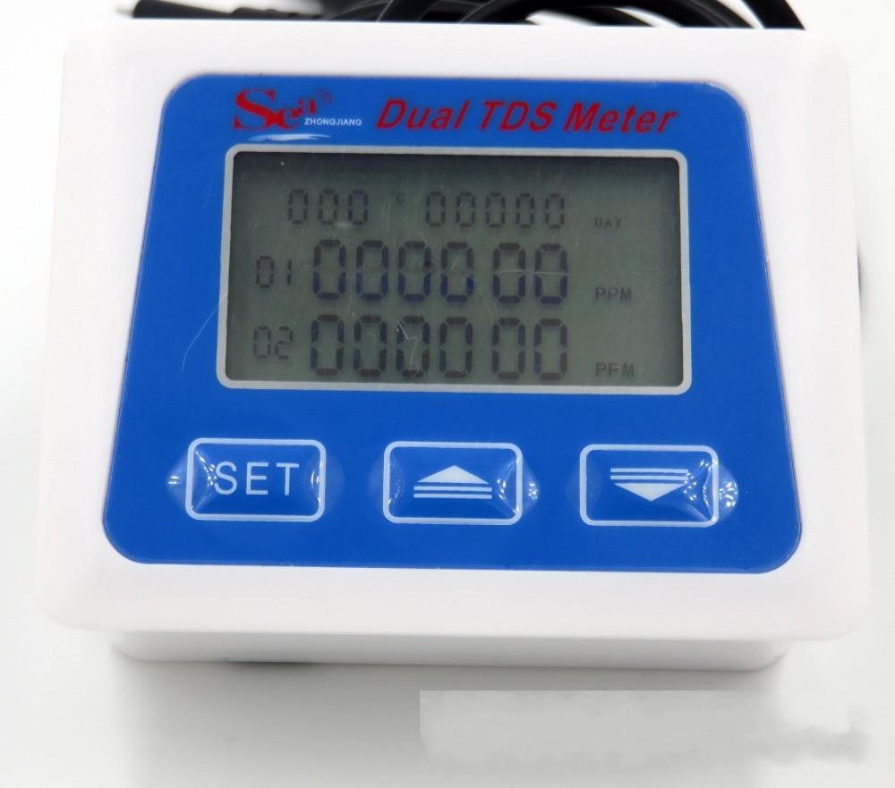 Medidor de TDS e temperatura em Linha