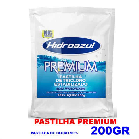 Pastilhas de Cloro 200gr - 90% - 10 UNIDADES