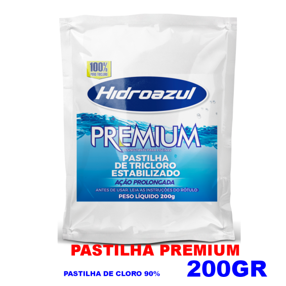 Pastilhas de Cloro 200gr - 90%