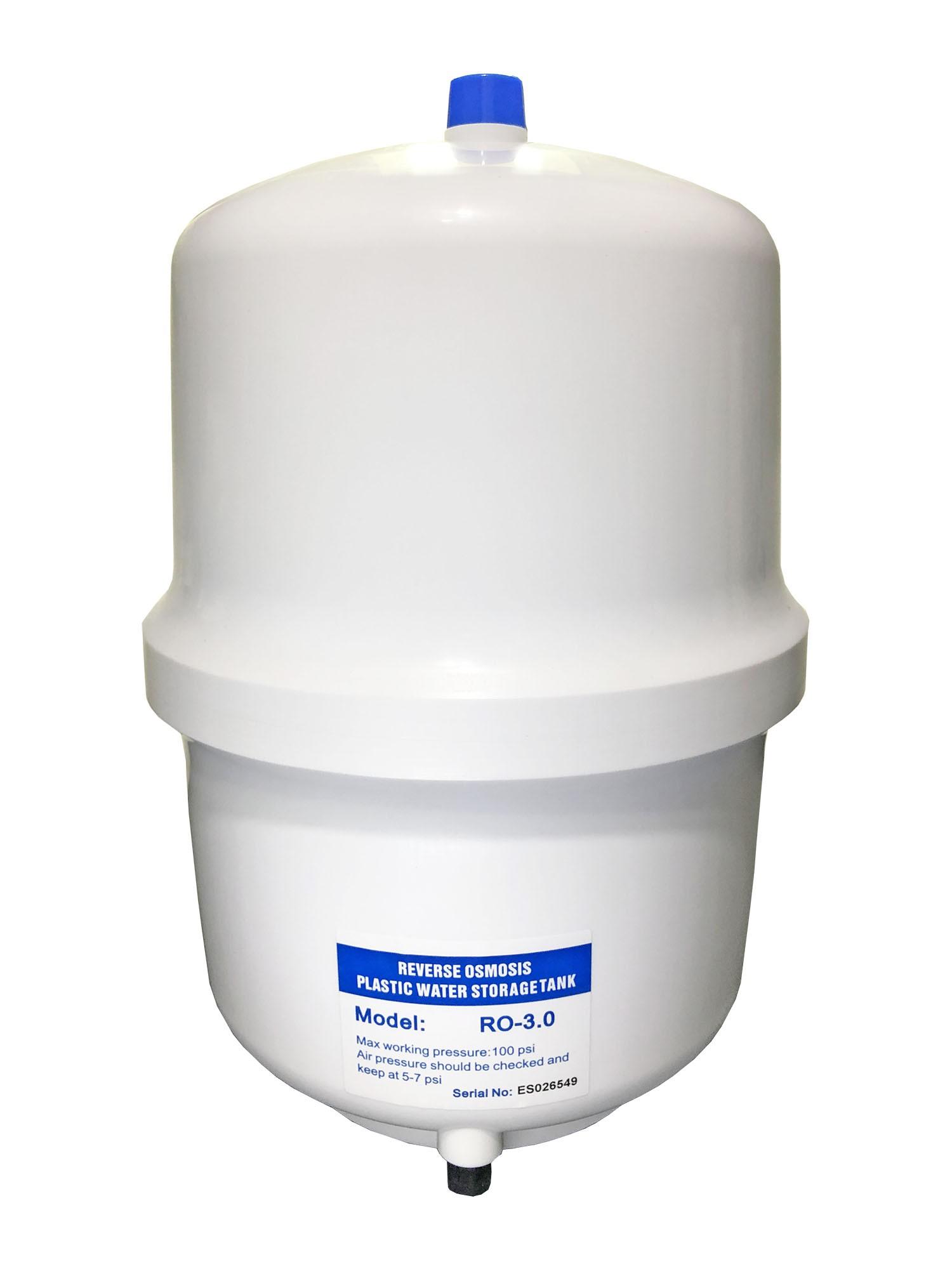 Tanque Reservatório Pressurizado para Osmose Reversa - 11 Litros (3.0 G)