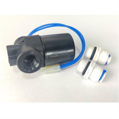 Válvula Solenoide Engate Rápido Osmose Reversa 1/4 24V Volts