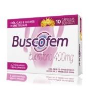 Buscofem Ibuprofeno 400mg com 10 Cápsulas Liqui-Gels