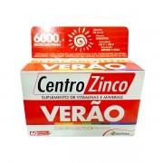 Centro Zinco Verão com 60 Cápsulas